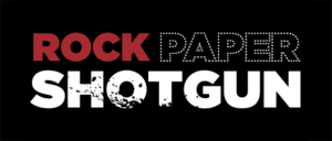 Official Rock Paper Shotgun Logo